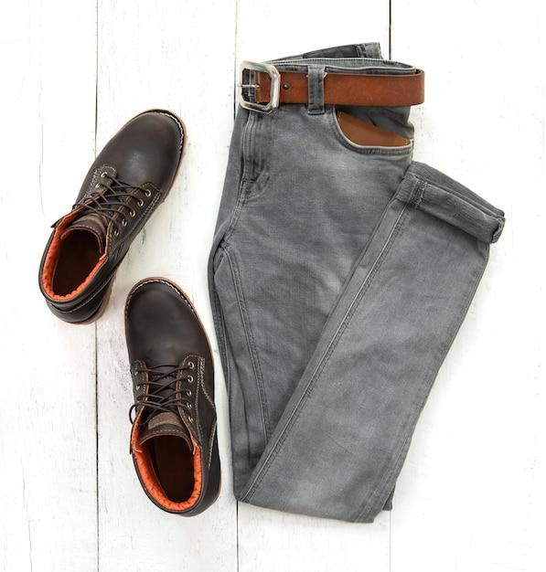 Mode mann outfit Premium Fotos