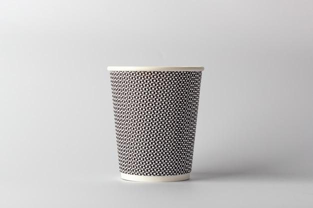 Modell papier kaffeetasse Premium Fotos