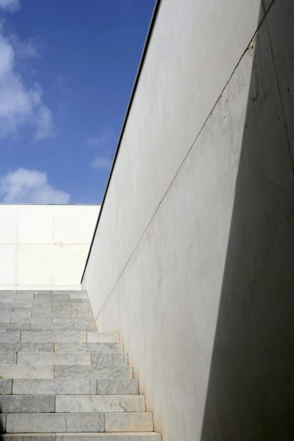 Moder architektur betontreppe treppe Premium Fotos