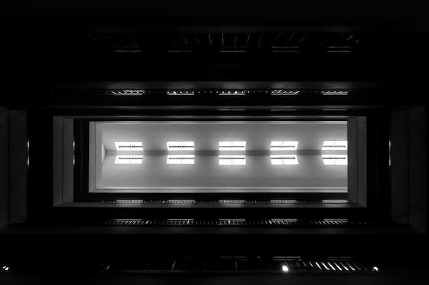 Modern von der dachstruktur des modernen gebäudes Premium Fotos