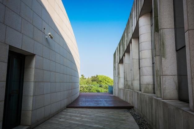 Moderne Architektur Gebaude Blaue Himmel Download Der Kostenlosen