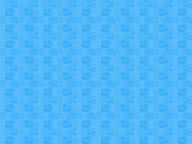Moderne nahtlose wiederholende kleine blaue quadratische fliesenmuster-beschaffenheitswand Premium Fotos