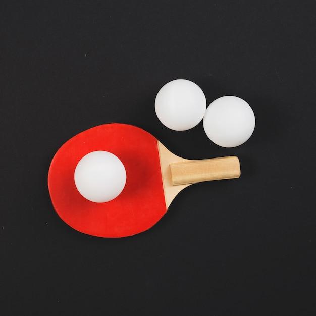 Moderne pingpong-ausrüstungszusammensetzung Kostenlose Fotos