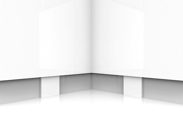 Moderne weiße tafel bühnenhintergrund. Premium Fotos