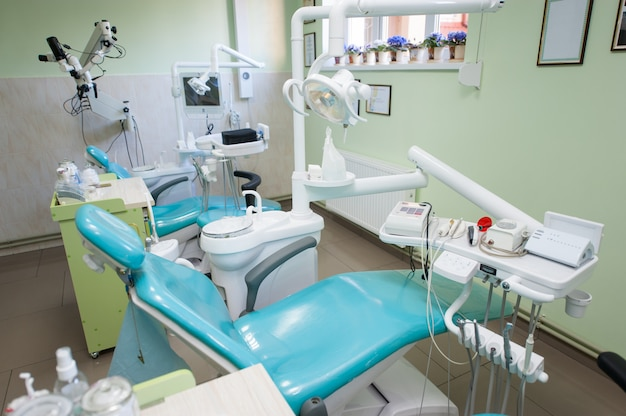 Moderne zahnarztpraxis Premium Fotos