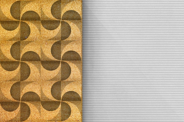 Moderner geometrischer hintergrund 3d Kostenlose Fotos