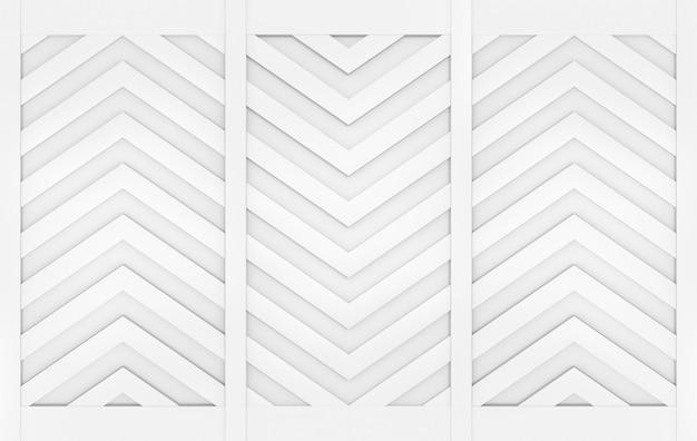 Moderner grauer dreieckzickzackmuster-wandgestaltungshintergrund. Premium Fotos