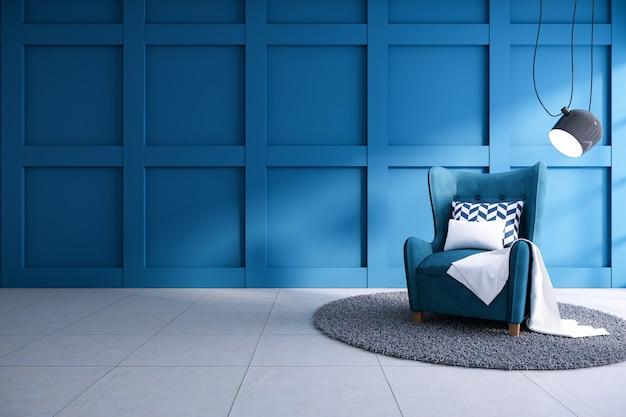 Moderner innenraum des wohnzimmers Premium Fotos