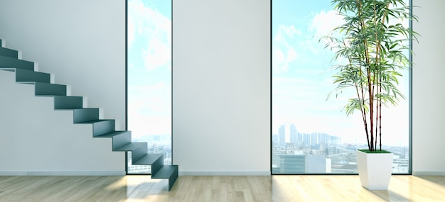 Moderner innenraum Premium Fotos