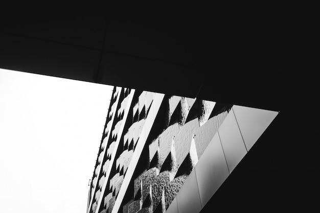 Modernes gebäude der architekturfassaden-auslegung Premium Fotos