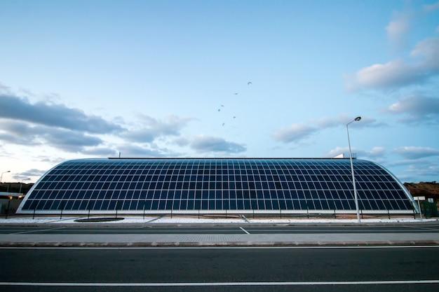 Modernes solarlager Premium Fotos