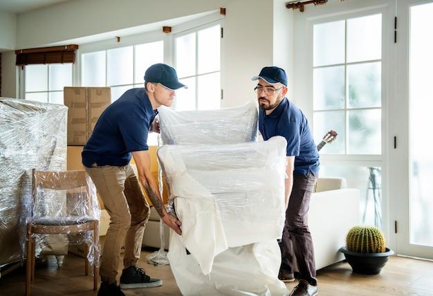 Möbel lieferservice konzept Premium Fotos