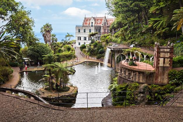 Monte palace tropican garden Premium Fotos