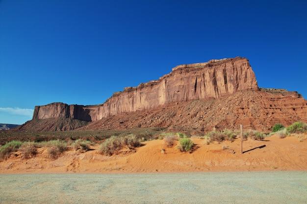 Monument valley in utah und arizona Premium Fotos