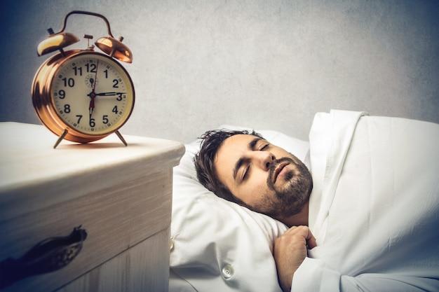 Morgens schlafen Premium Fotos