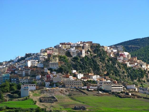 Moulay idriss zerhoun in marokko Premium Fotos