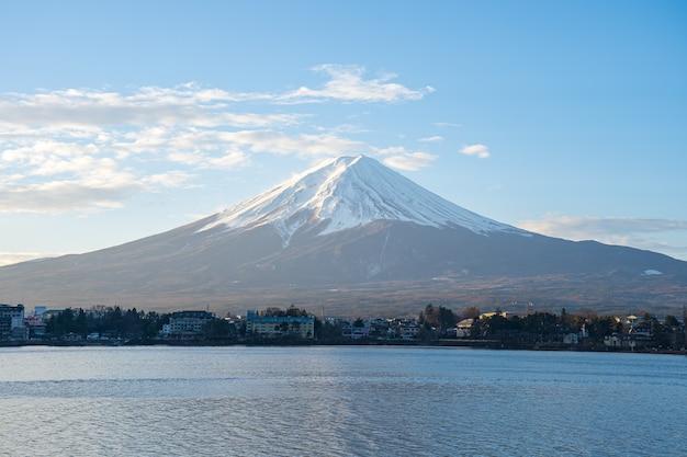 Mount fuji, der höchste berg japans. Premium Fotos