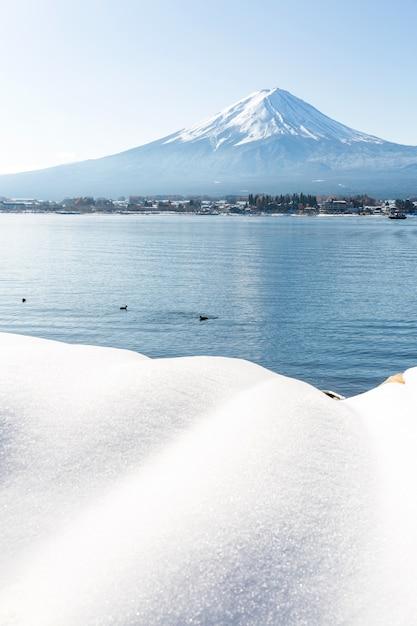 Mt. fuji-berg Premium Fotos