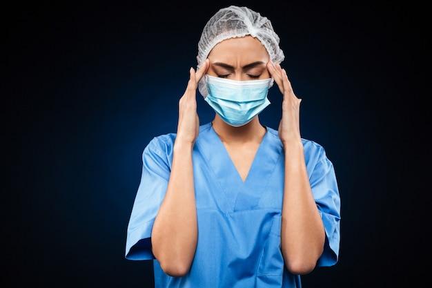 Maske Kopfschmerzen