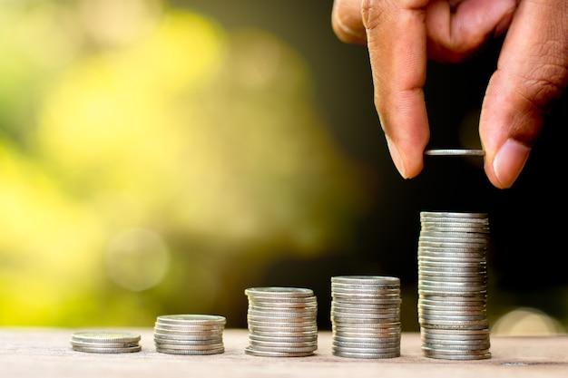 Münzen Premium Fotos