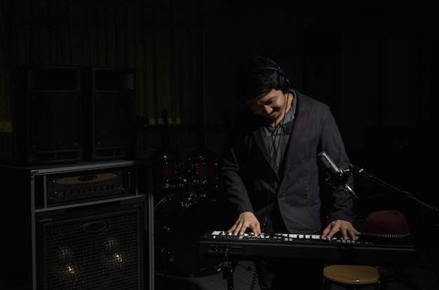 Musiker-konzept Premium Fotos