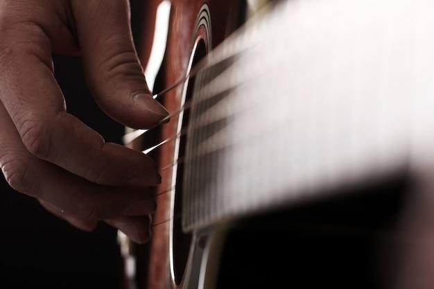 Musiker spielt gitarre Kostenlose Fotos