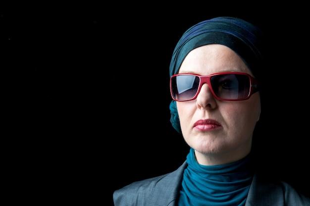 Muslimische frau porträt Premium Fotos