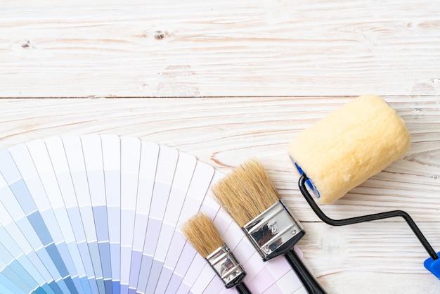 Musterfarben katalog pantone oder farbmuster buch Premium Fotos