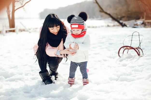 Mutter mit kleiner tochter Kostenlose Fotos