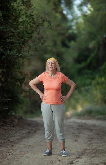 Nach einem joggen Premium Fotos