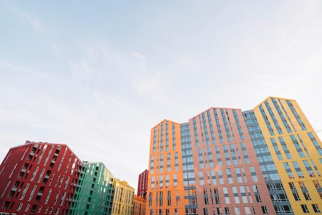 Nachbarschaft Mit Vielen Neuen Häusern Kostenlose Fotos