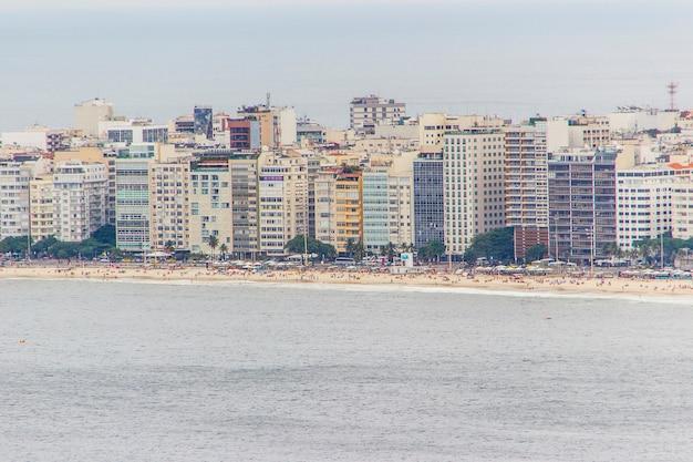 Nachbarschaft von copacabana in rio de janeiro Premium Fotos
