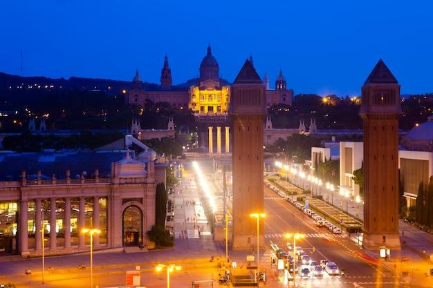 Nachtansicht des platzes von spanien Kostenlose Fotos