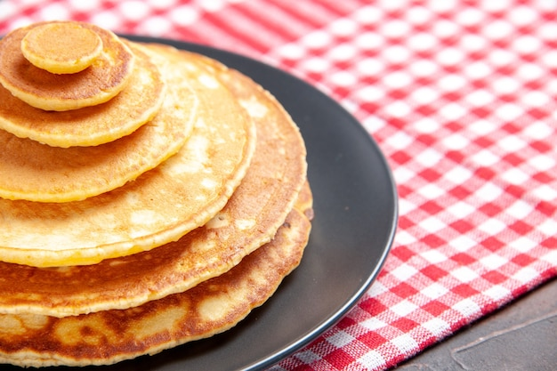 Nahaufnahme ansicht von pfannkuchen für frühstück bildbestand Kostenlose Fotos
