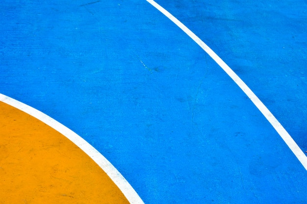 Nahaufnahme basketballplatz Premium Fotos