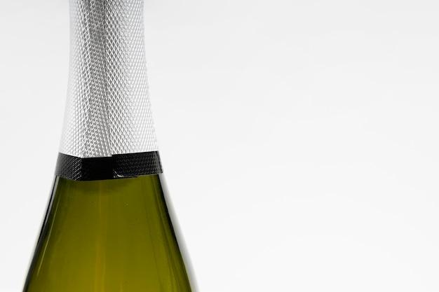 Nahaufnahme champagner mit kopierraum Kostenlose Fotos