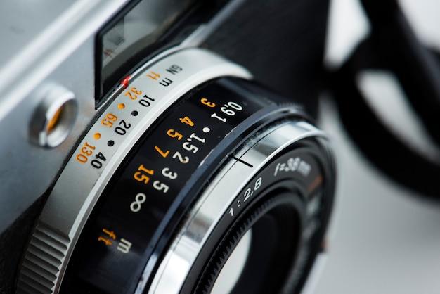 Nahaufnahme der weinlesekamera Kostenlose Fotos