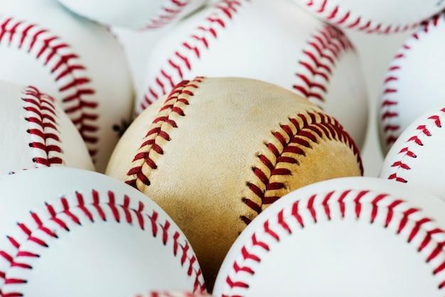 Nahaufnahme des baseballs Kostenlose Fotos