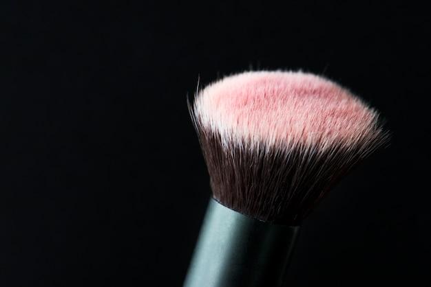 Nahaufnahme des kosmetischen pinsels Kostenlose Fotos