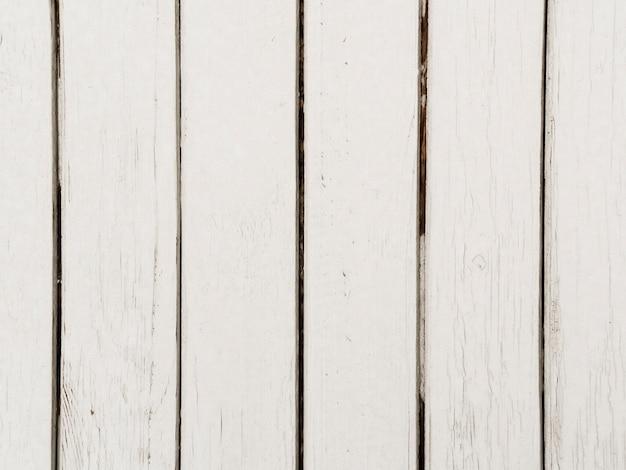 Nahaufnahme des weißen hölzernen strukturierten hintergrundes Kostenlose Fotos