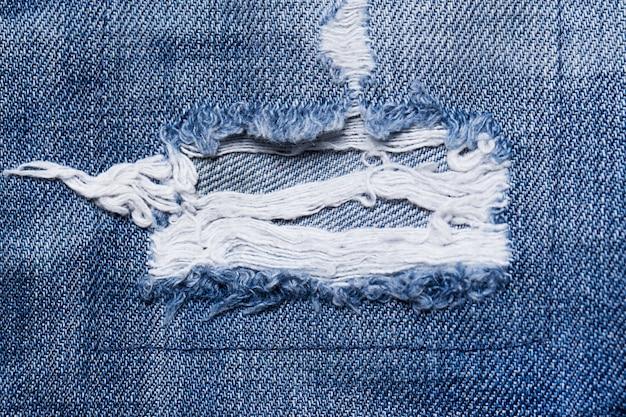Nahaufnahme eines heftigen teils jeans Kostenlose Fotos