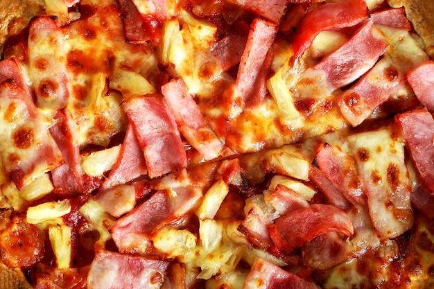 Nahaufnahme pizza Premium Fotos