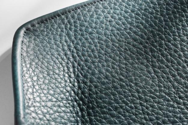 Nahaufnahme schwarz strukturiertes leder draufsicht Kostenlose Fotos