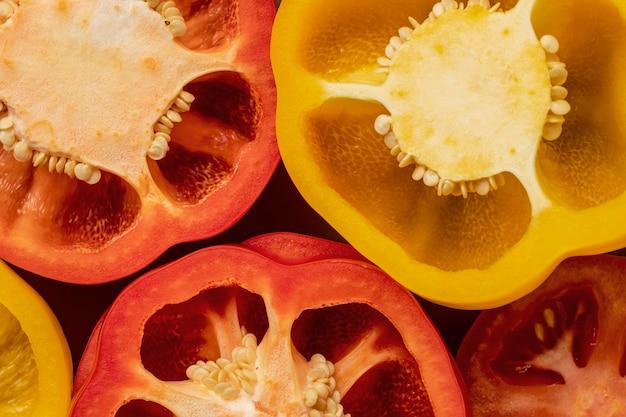 Nahaufnahme von paprika Kostenlose Fotos