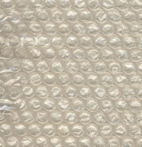 Nahaufnahmeansicht der polyethylenluftblase für stoßsichere verpackung Premium Fotos