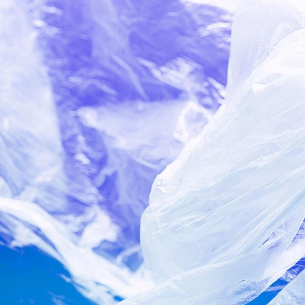 Nahes abstraktes plastiktütenkonzept Kostenlose Fotos