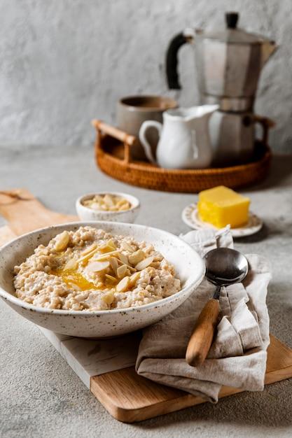 Nahrhaftes frühstücksmenü Kostenlose Fotos