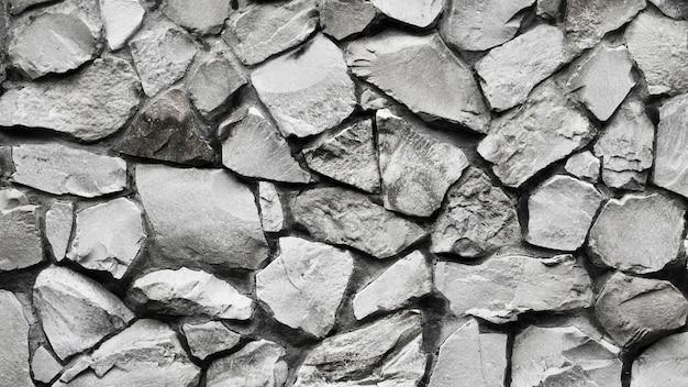 Nahtlose beschaffenheit der draufsicht von steinen Premium Fotos
