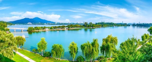 Nanjing xuanwu see Premium Fotos