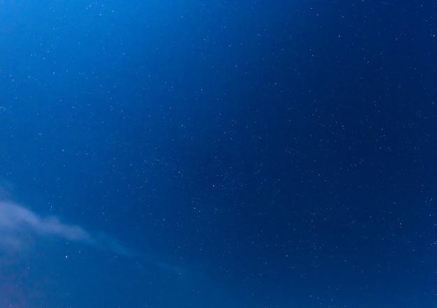 Narural echte nachthimmel sterne Premium Fotos